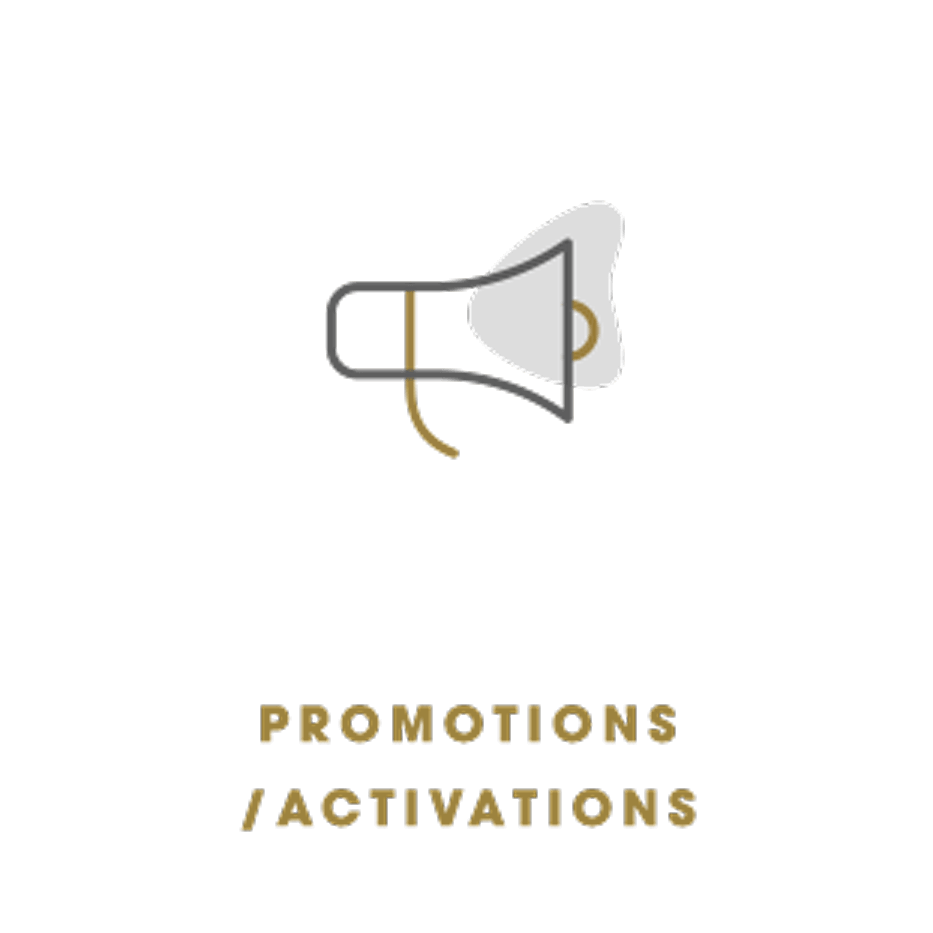 Promotions or Activations