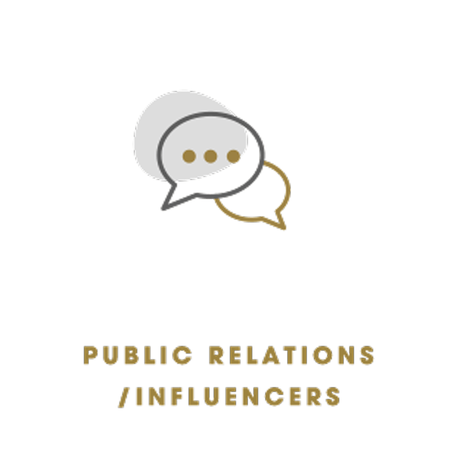 Public Relations or Influencers